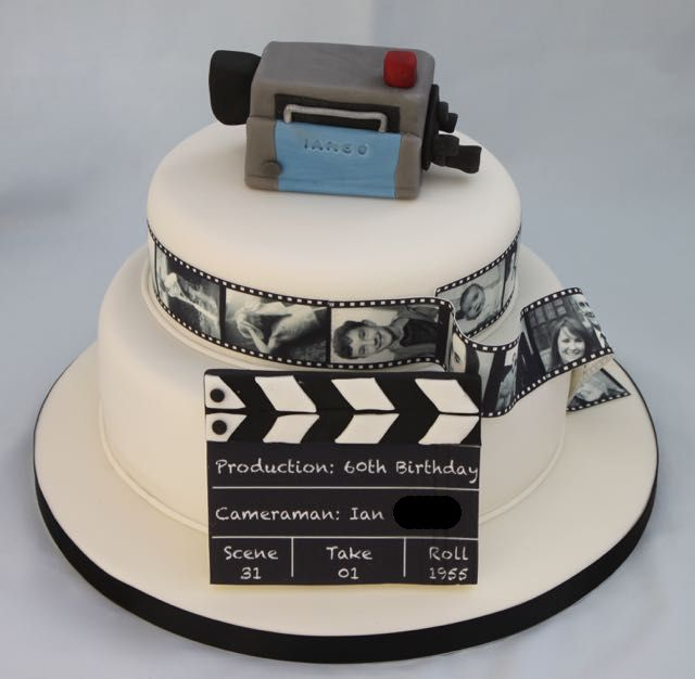 Movie Camera Birthday Cake