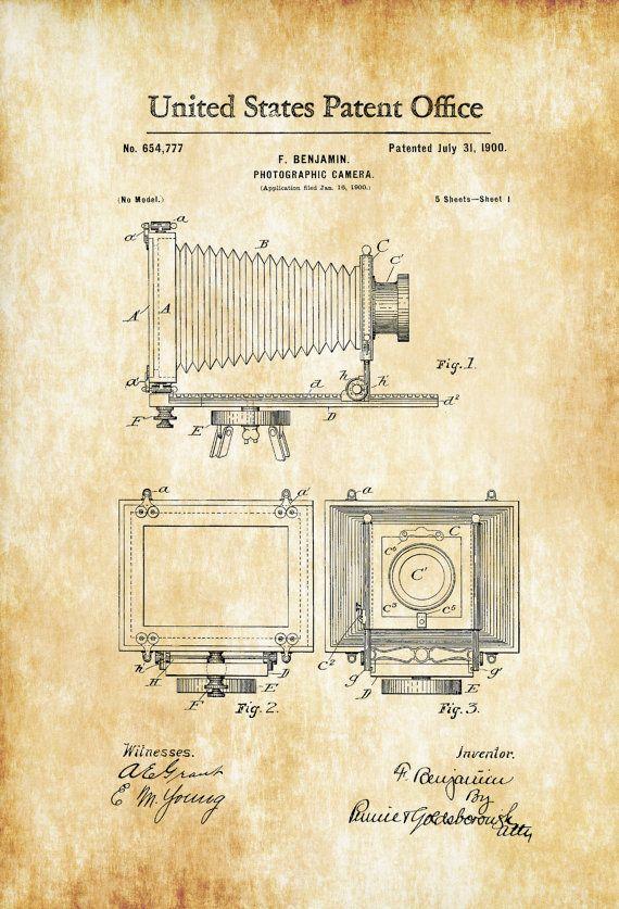 150 best Camera Blueprints \ Drawings images on Pinterest Camera - copy famous blueprint art