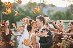 Matrimonio a tema in autunno: dagli addobbi all'abito da sposa