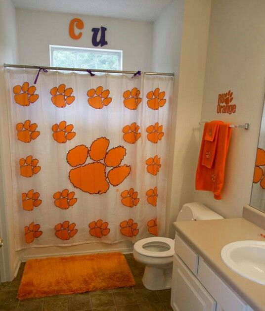 Clemson Bathroom
