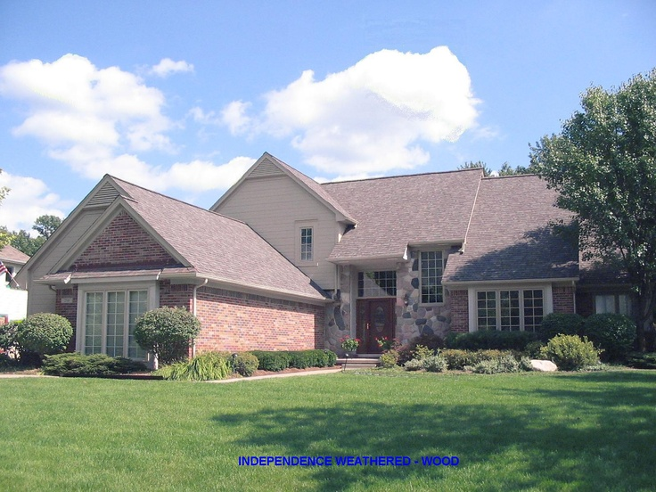 Certainteed Independence Weathered Wood Roof Shingles