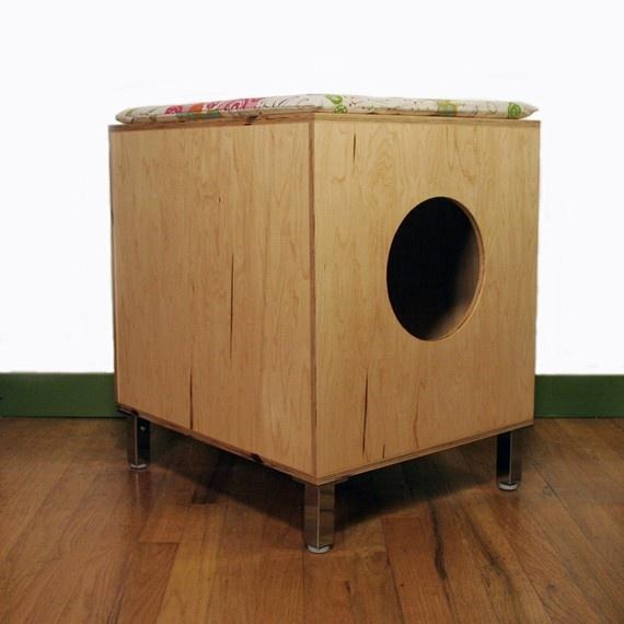 22 Best Cool Litter Boxes Images On Pinterest Cat Boxes
