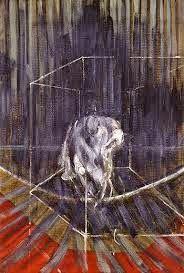 Rouge et Noir a Badem Ciflik: Francis Bacon - Crouching Nude (1950-1951)