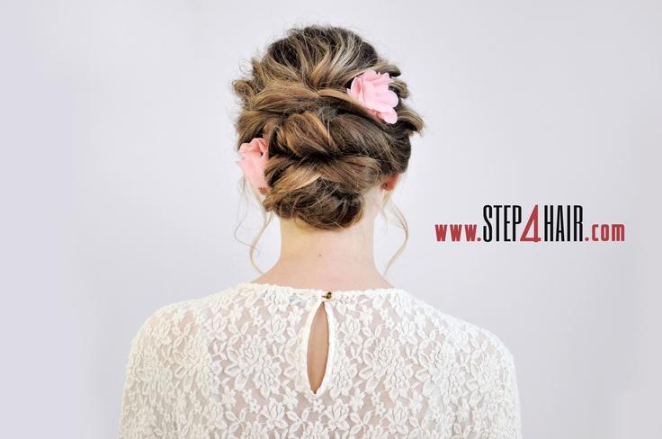 Trzy stylizacje z akcesoriami do włosów / Edukator: Marianna Nakonechna