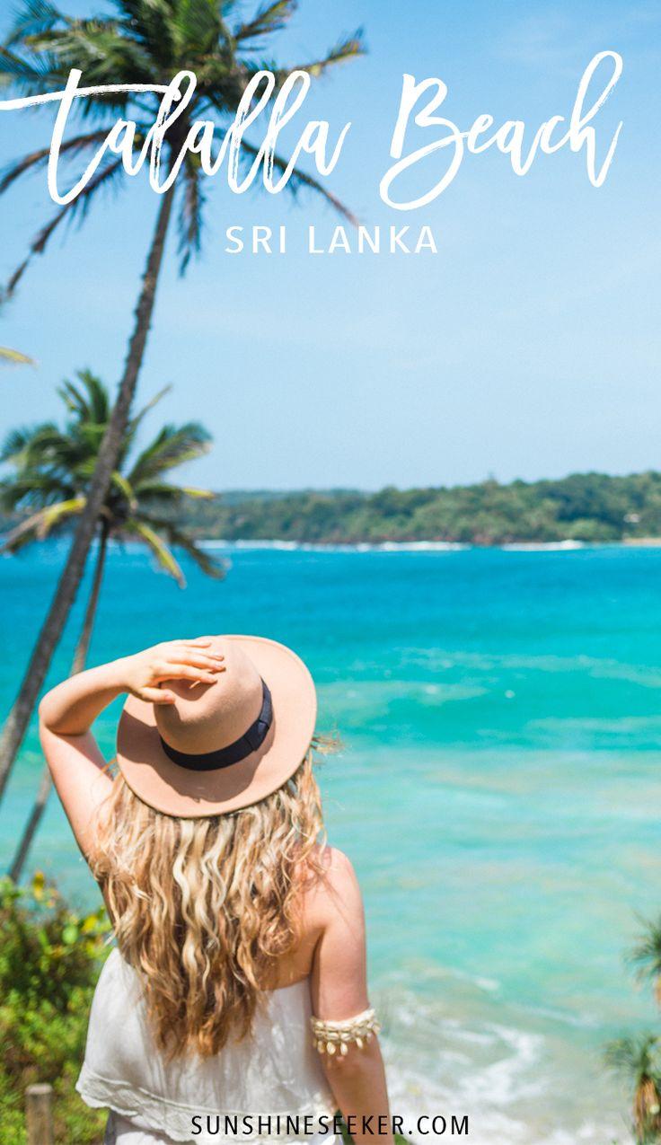 Talalla Beach, Sri Lanka. See why you need to visit this tropical paradise!