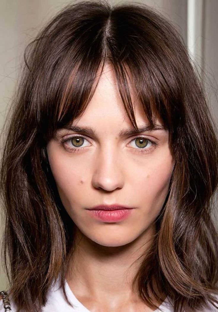21 Best One Length Hair Cuts Images On Pinterest