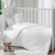 Lovely Bear Beyaz / Bebek Nevresim Takımı