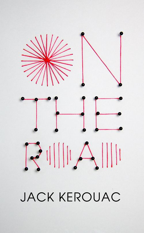 On the Road-  Untraditional lettering that catches the eye                                                                                                                                                     More