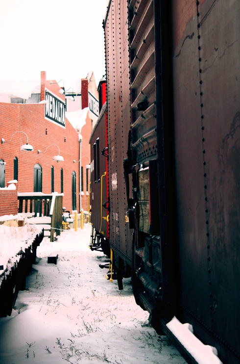 Medalta Potteries in Winter // Photo Editing Luke