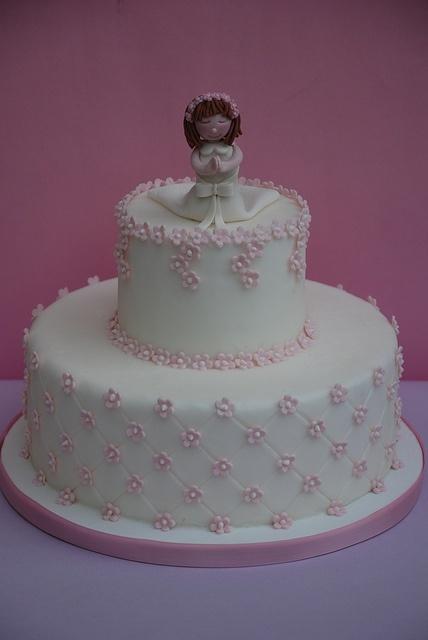 Cake Torta Prima Comunione By Alessandra Designer Via Flickr Primera Comunion Pinterest
