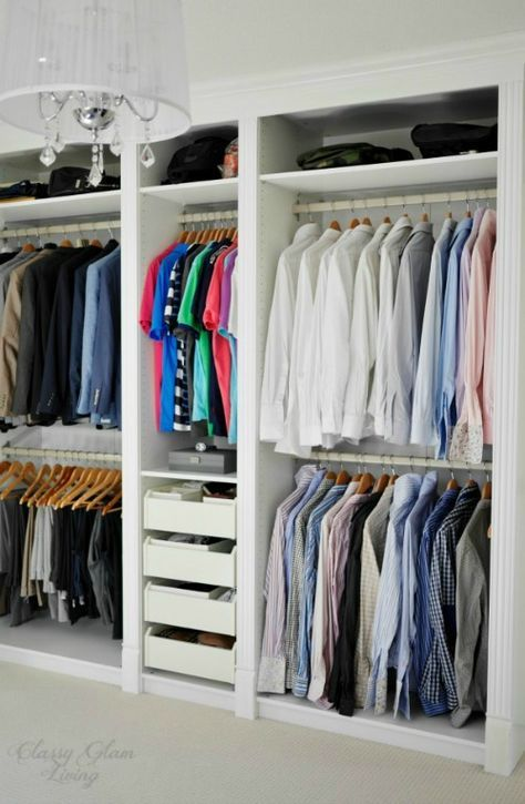 Best 25 wardrobe systems ideas on pinterest ikea wardrobe closet pax clos - Agencement dressing ikea ...