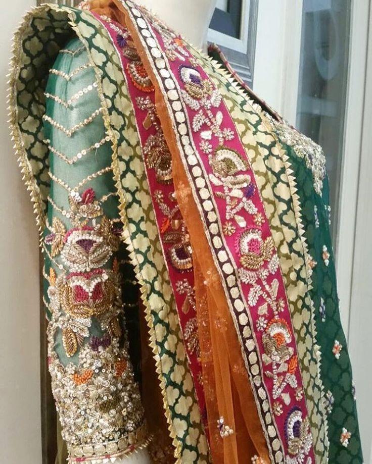 The power of color - Karma's signature forte #karma #karachi #lahore #pakistan #bridal #bride #fashion #karmared #pakistanifashion #pakistaniwedding #design #designpowerhouse #tradional #classic #beauty #gota