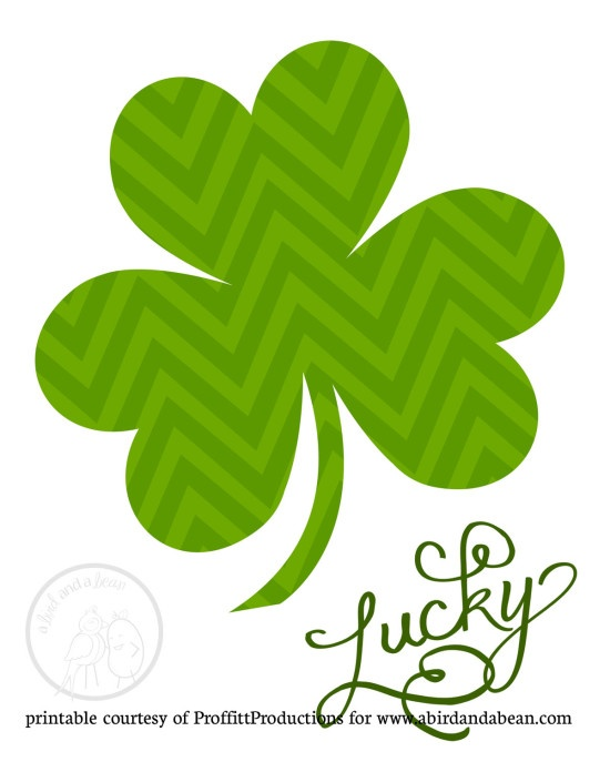 Free Printable :: St. Patrick's Day Art StPatty