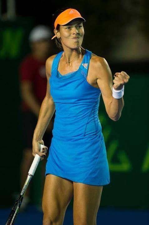 Ana Ivanovic at the Abierto de Tenis Monterrey Open 2014 #WTA #Ivanovic #Monterrey