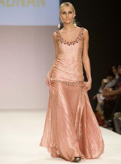 Amir Adnans Bridal Collection at Dubai Fashion week