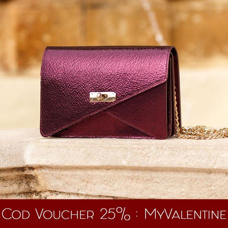 Get the purple Barbara clutch with a 25% discount @comenziwildinga