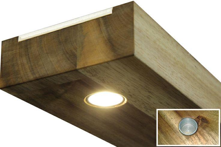 Hängelampe Kassiopeia Akazie LED Echtholz 80cm von Svayk Design Berlin auf DaWanda.com