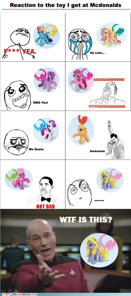 The last pony..Did it make an appearance on the series?