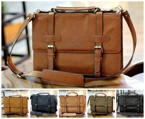 Stylish-Vintage-Leather-Messenger-Laptop-Bag-Unisex-Business-Briefcase-Handbag