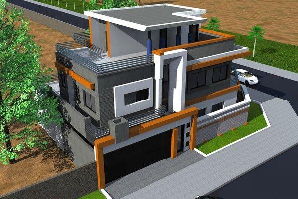Plan De Construction De Maison Plan Maison R 2 Maroc De Construction Gratuit Au Annalena Us Architectural House Plans Modern House Facades House Plan Gallery