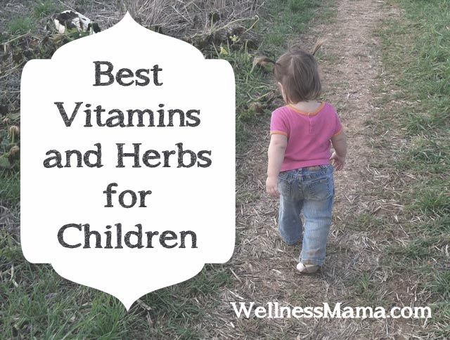 Vitamin and Herb Supplements for Children - Wellness Mama Interesting, these are basically what our kids take right now.