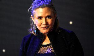 Actor who played Princess Leia in Star Wars was also known for her bristling intellect and writing that mixed candour, sweetness and wit