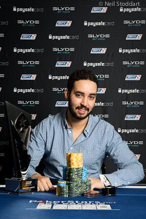 Suedezul Ramzi Jelassi, 26 de ani si jucator profesionist de poker, castiga Evenimentul Principal de €5.300 al EPT Praga. €835.000 si un ceas din partea Slyde, sponsor oficial al EPT 9, au fost premiul lui.