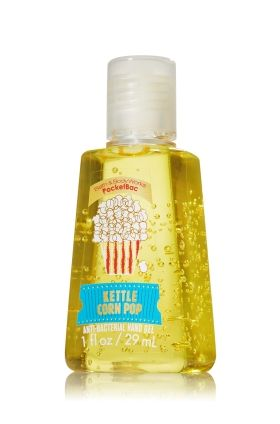Kettle Corn Pop PocketBac Sanitizing Hand Gel - Anti-Bacterial - Bath & Body Works