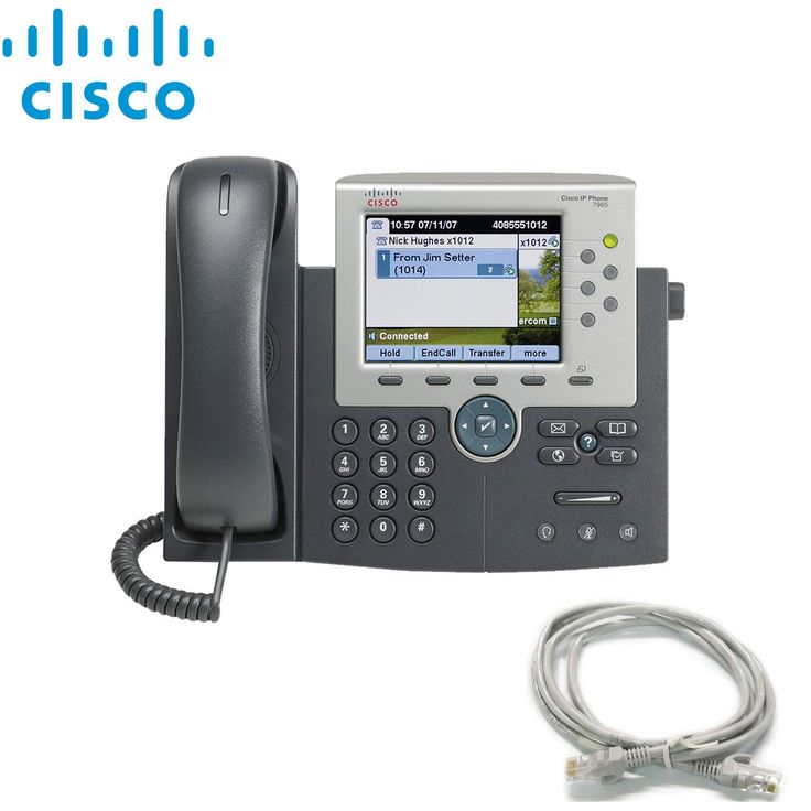 Amazoncom Cisco Unified Ip Phone 7975g Extra Cat5 Cables