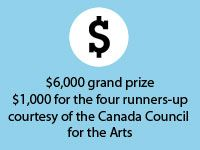 Canada Writes - 2015 CBC Poetry Competition now open!