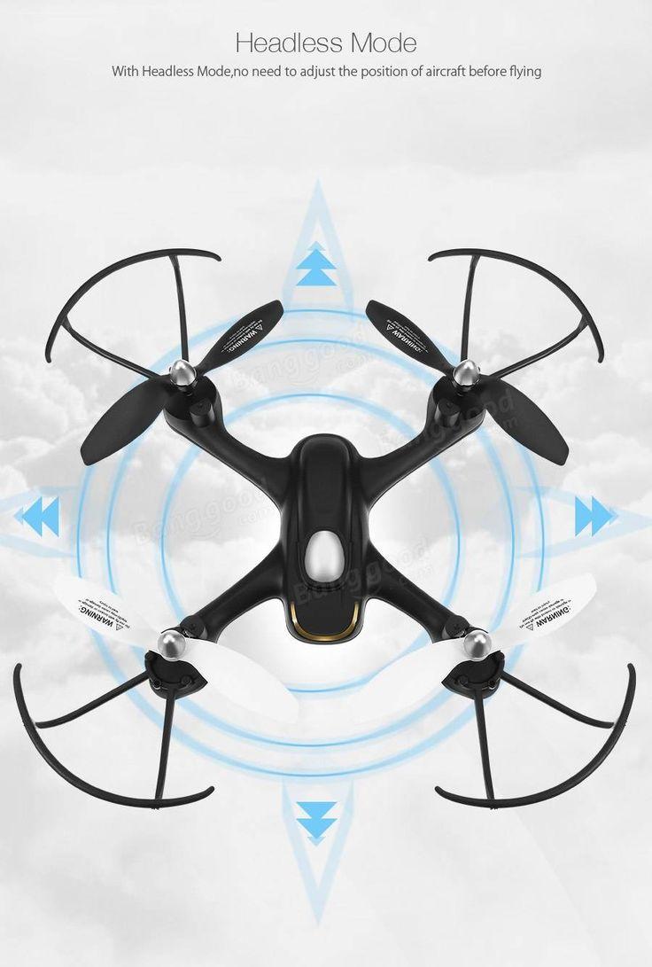 Eachine E33C 2.4G 6CH With 2MP Camera Headless Mode LED Night Flight RC Quadcopter RTF