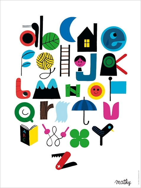 human empire: Vincent Of Onofrio, Alphabet Vincent, Abc Poster, Illustration, Alphabet Poster, Art, Vincent Mathi, Vincentmathi, Kids Rooms