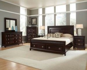 Set Tempat Tidur Minimalis MJ5012