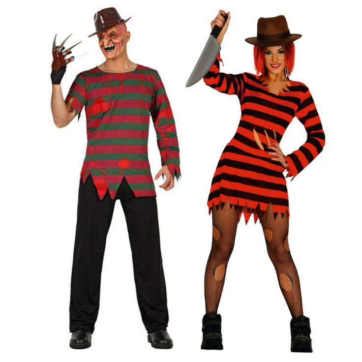 Pareja freddy krueger parejas disfraces carnaval - Difraces para carnaval ...