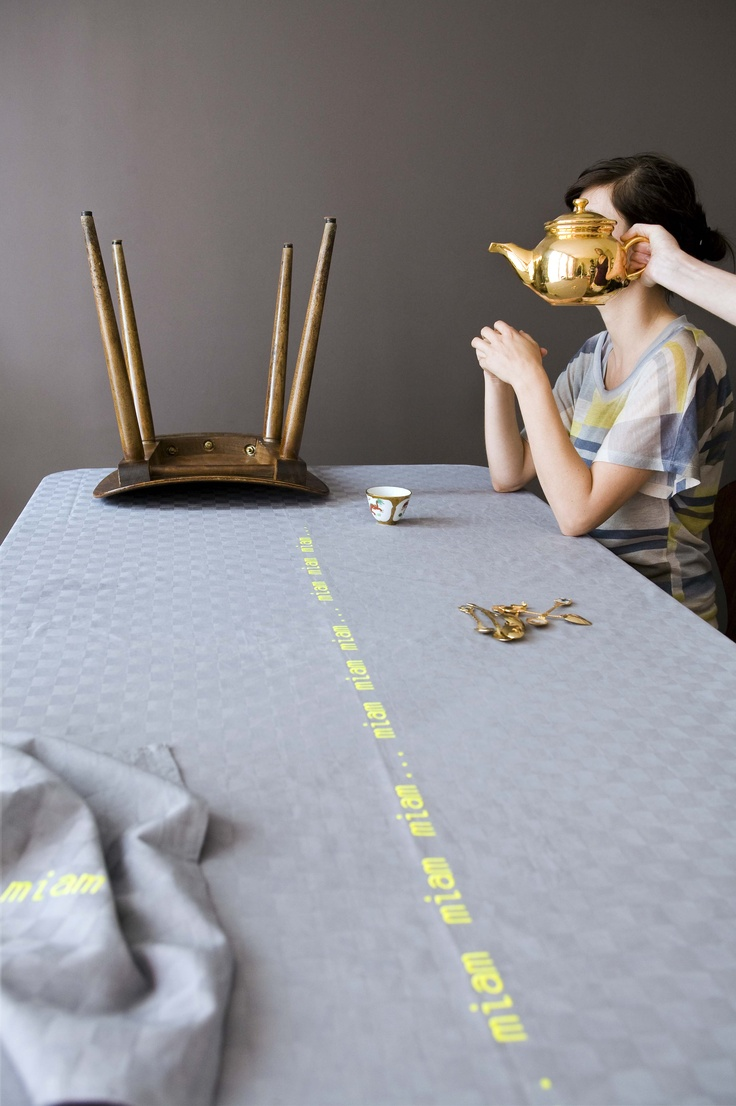 57 best images about linge de table nappes torchons on pinterest paper plate art zara. Black Bedroom Furniture Sets. Home Design Ideas