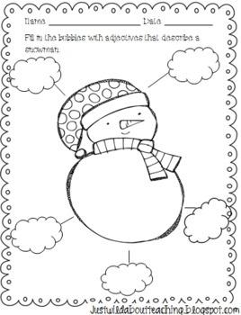 snowman freebies.
