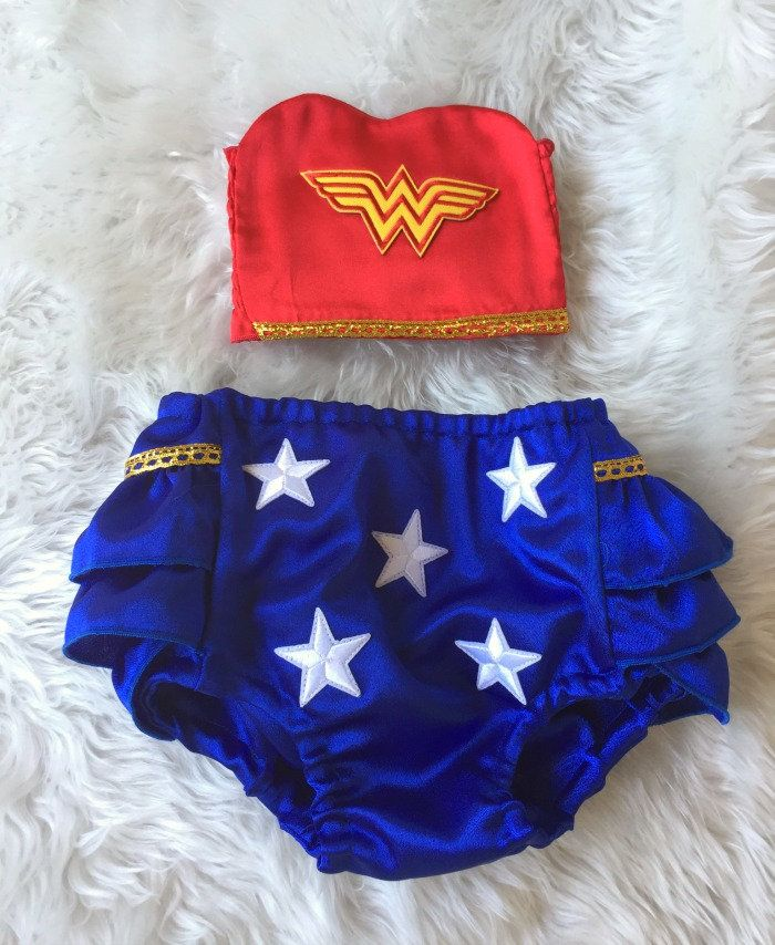 photo outfit girl Smash Cake outfit girl Adorable Wonder woman outfit,1st birthday girl Girls first birthday outfit Size 0,1 and 2