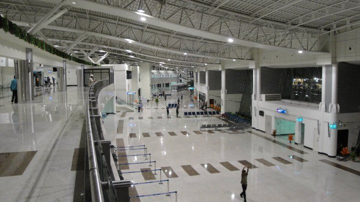 New Terminal at Madurai International Airport