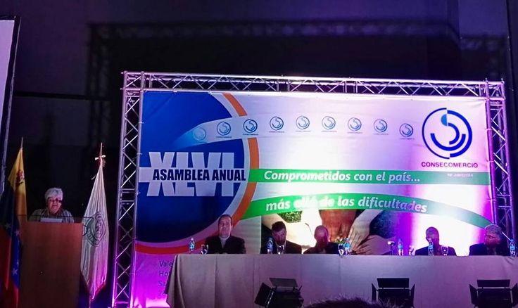 Presentes en la XLVI Asamblea Anual de @consecomercio cada vez más convencidos de que juntos saldremos adelante. #Consecomercio #Venezuela #Comercio #Negocios #Vzla #Valencia #Empresas by camcomercione