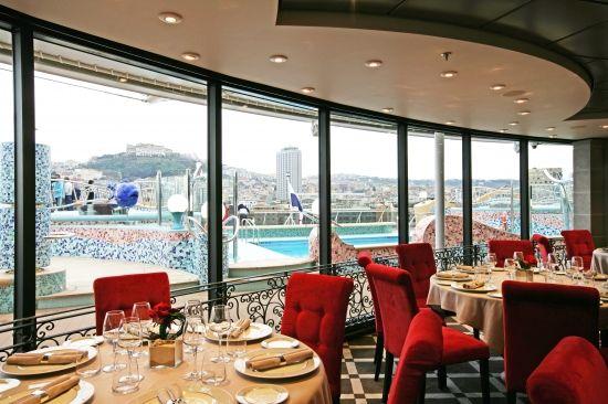 #MSCFantasia L'Étoile, #restoran #MSCYachtClub