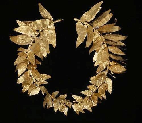 Greek, Gold wreath, 4th century BC