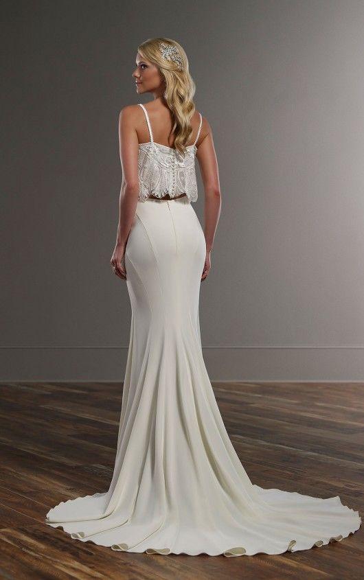 Tyler+Sanja Glam Wedding Dress Separates by Martina Liana