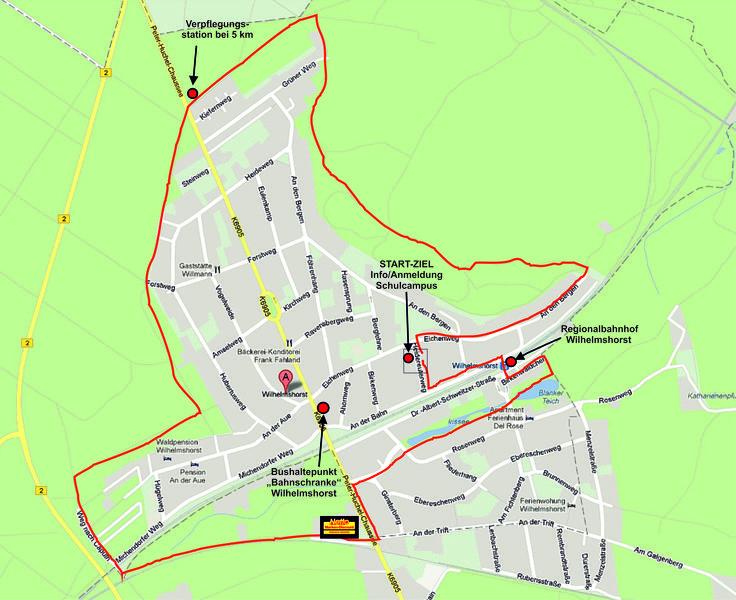 Rund Um Wilhelmshorst (10k) - participated 1st 2013