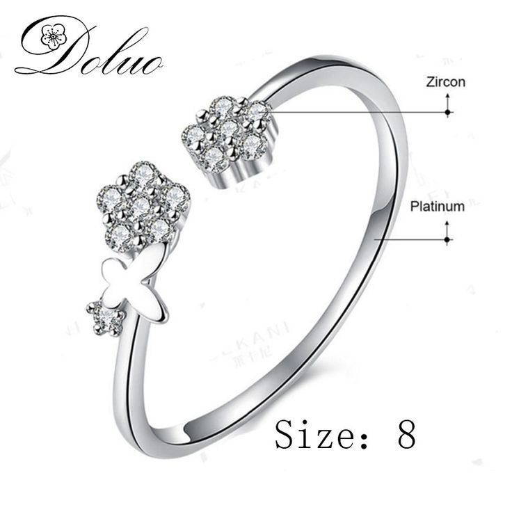 Cheap silver ring jewelry, Buy Quality ring jewelry directly from China open ring Suppliers: Flower opening ring European and American selling sterling silver Ring  jewelry for gift