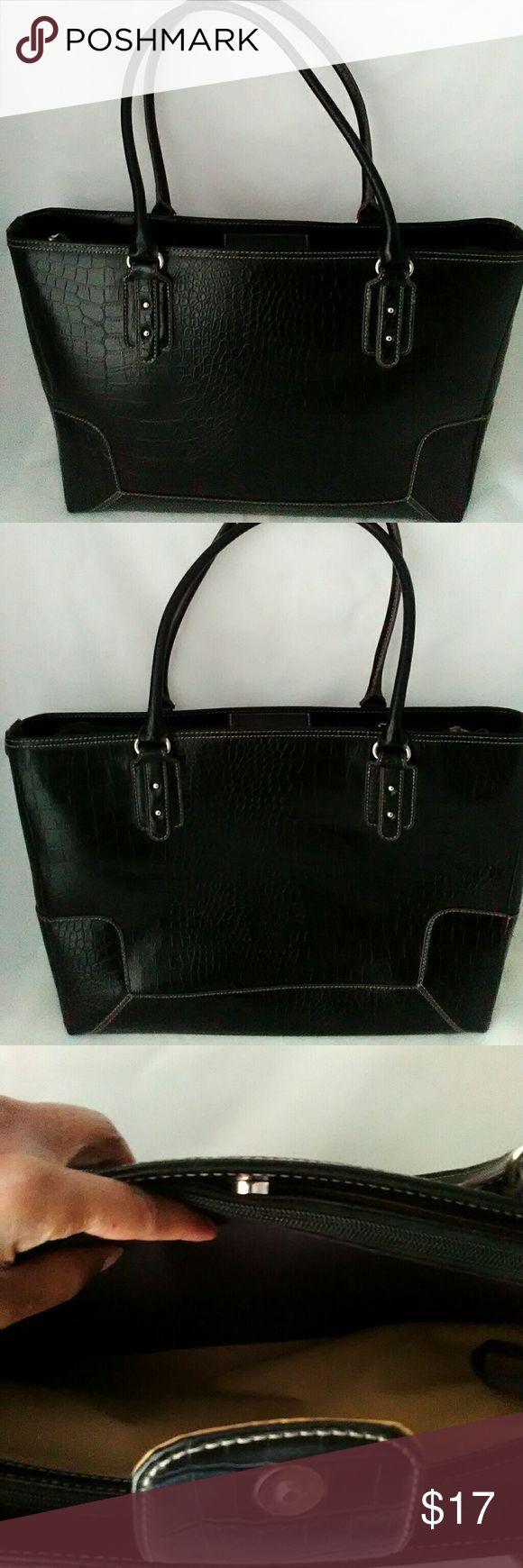 Apostrophe black laptop case tote bag Apostrophe black laptop tote bag case Bags Laptop Bags