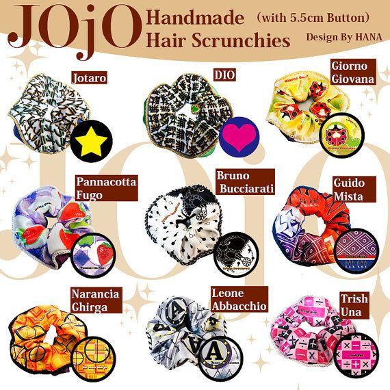 JOJO'S BIZARRE ADVENTURE inspired handmade hair by DOKIDOKIHK