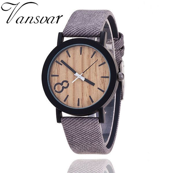 2016 Simulation Wooden Relojes Quartz Women Watch Casual Wooden Color Leather Strap Watch Wood Male Wristwatch Relogio Masculino