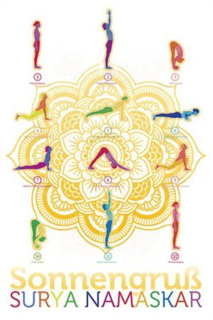 Yoga - sonnengruß //