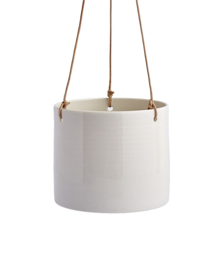 Grow hanging flowerpot white - Spotted at the Anne Black website http://www.anneblack.com
