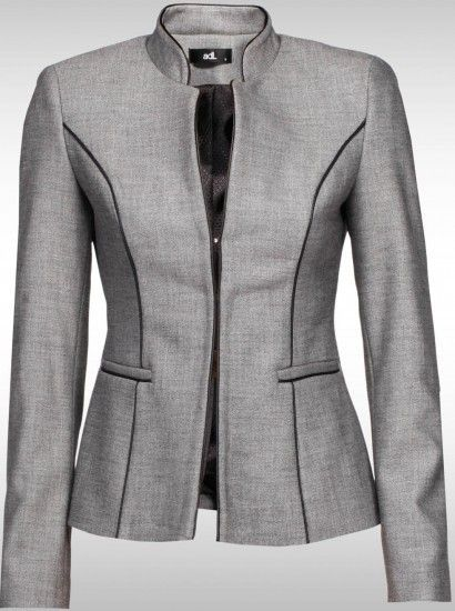 I like this blazer. Could create a suit outfit for the office.